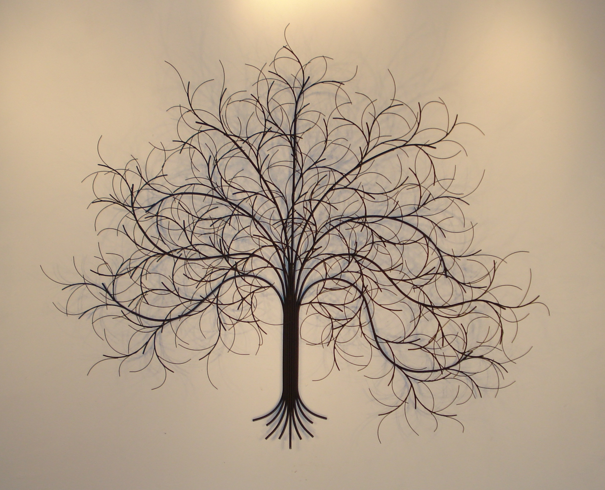March tree metal wall art metal sculpture and wall decor for Tree wall art