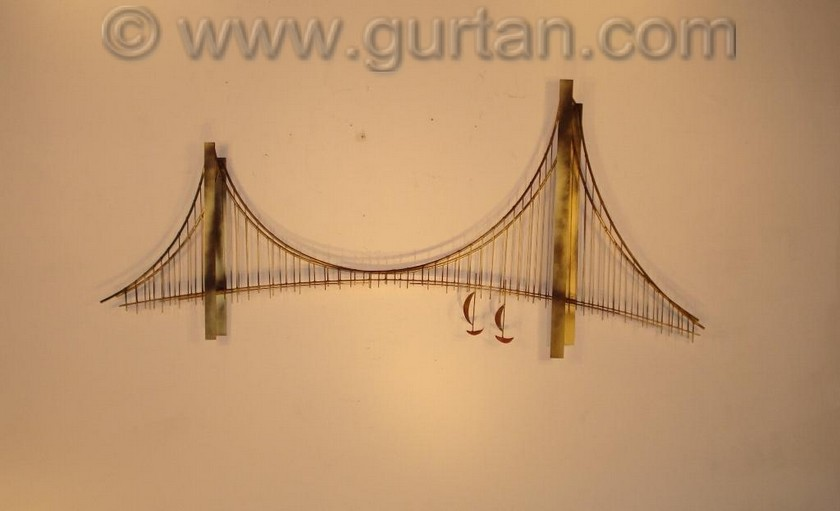 Bridge Metal Wall Art Metal Wall Sculpture Home Decor