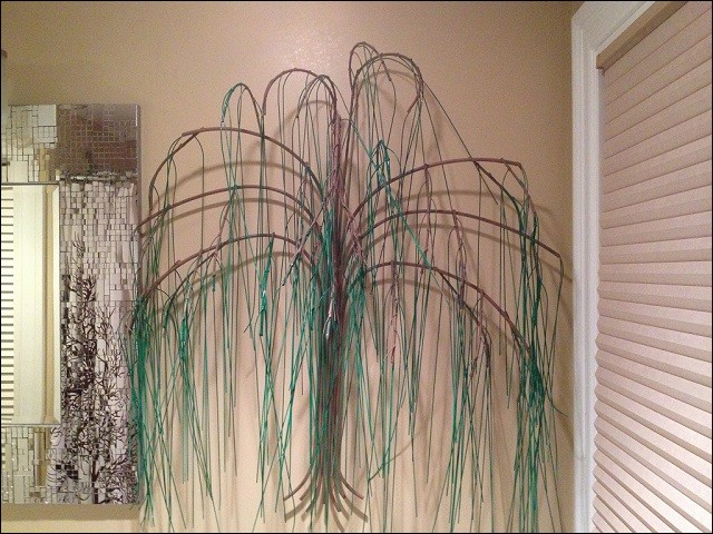 Custom Weeping Willow Tree in Bronze and Green